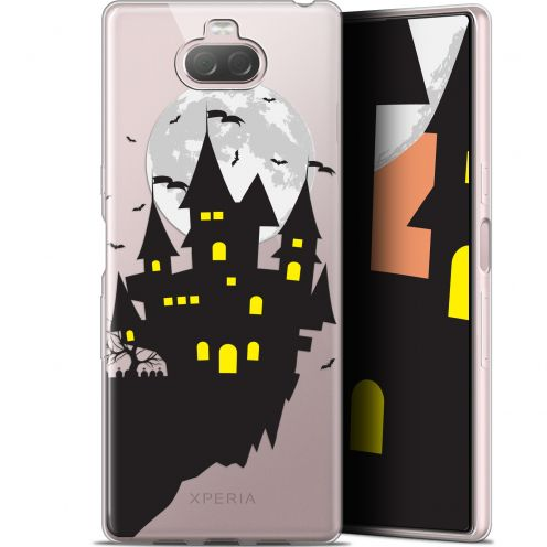 "Coque Gel Sony Xperia 10 Plus (6.5"") Extra Fine Halloween - Castle Dream"