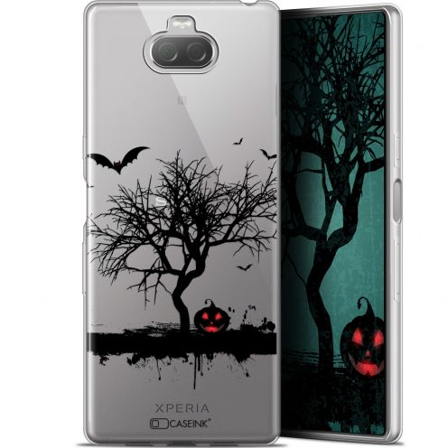 "Coque Gel Sony Xperia 10 Plus (6.5"") Extra Fine Halloween - Devil's Tree"