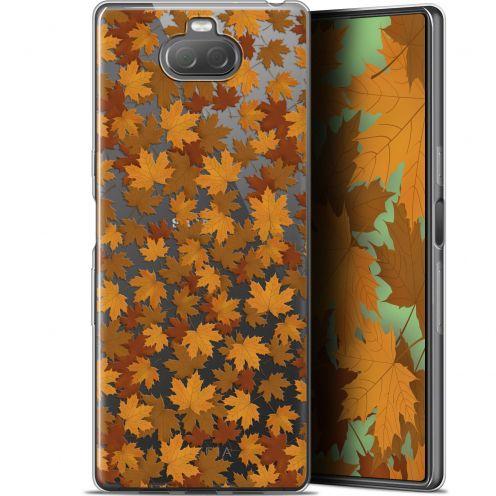 "Coque Gel Sony Xperia 10 Plus (6.5"") Extra Fine Autumn 16 - Feuilles"