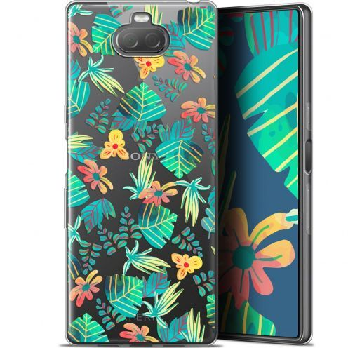 "Coque Gel Sony Xperia 10 Plus (6.5"") Extra Fine Spring - Tropical"