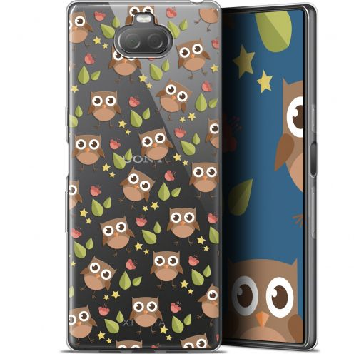 "Coque Gel Sony Xperia 10 Plus (6.5"") Extra Fine Summer - Hibou"