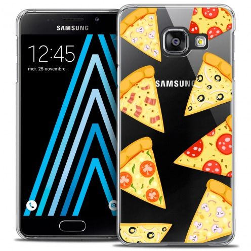 Coque Crystal Galaxy A3 2016 (A310) Extra Fine Foodie - Pizza