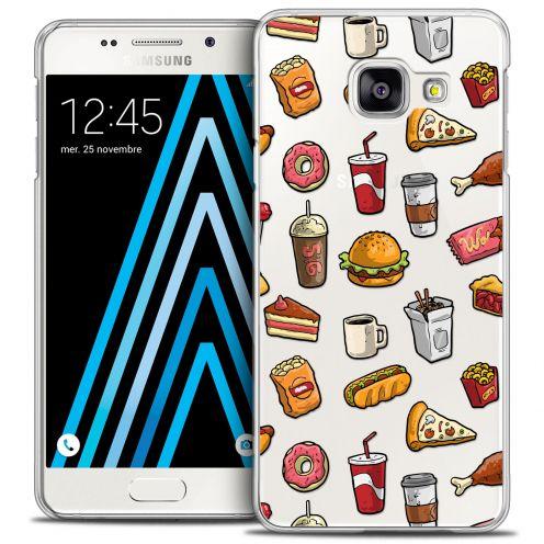 Coque Crystal Galaxy A3 2016 (A310) Extra Fine Foodie - Fast Food