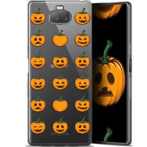 "Coque Gel Sony Xperia 10 Plus (6.5"") Extra Fine Halloween - Smiley Citrouille"