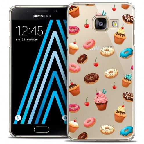 Coque Crystal Galaxy A3 2016 (A310) Extra Fine Foodie - Donuts