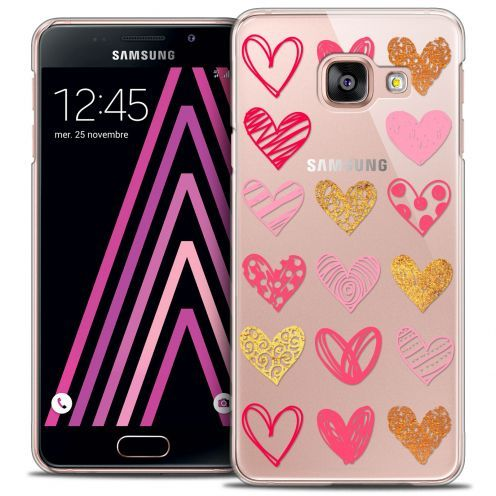 Coque Crystal Galaxy A3 2016 (A310) Extra Fine Sweetie - Doodling Hearts