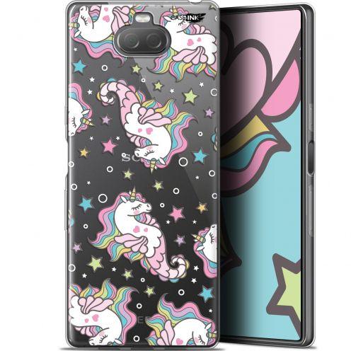 "Coque Gel Sony Xperia 10 Plus (6.5"") Extra Fine Motif - Licorne Dormante"