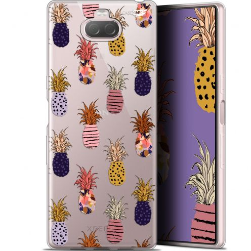 "Coque Gel Sony Xperia 10 Plus (6.5"") Extra Fine Motif - Ananas Gold"