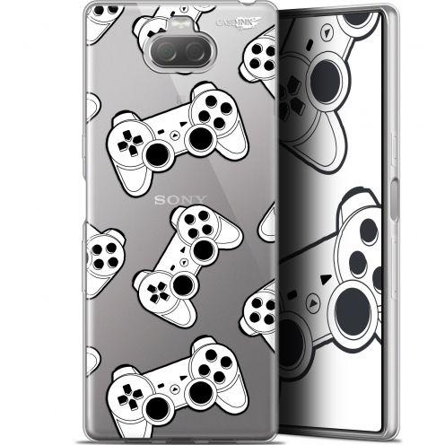 "Coque Gel Sony Xperia 10 Plus (6.5"") Extra Fine Motif - Game Play Joysticks"