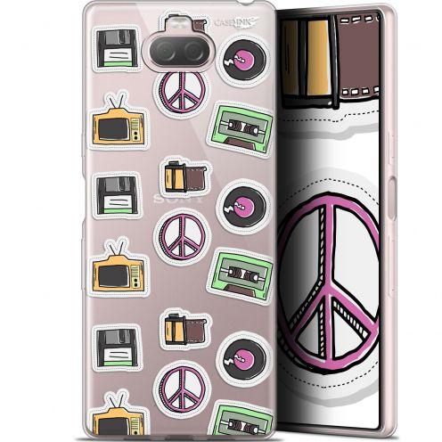 "Coque Gel Sony Xperia 10 Plus (6.5"") Extra Fine Motif - Vintage Stickers"