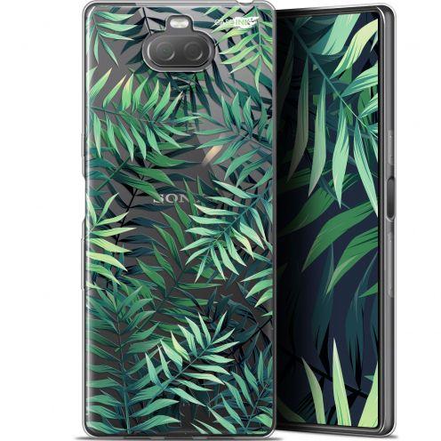 "Coque Gel Sony Xperia 10 Plus (6.5"") Extra Fine Motif - Feuilles des Tropiques"