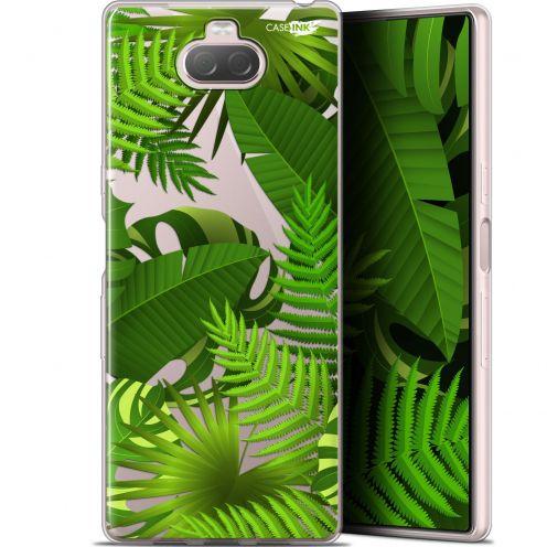 "Coque Gel Sony Xperia 10 Plus (6.5"") Extra Fine Motif - Plantes des Tropiques"