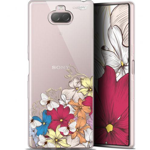"Coque Gel Sony Xperia 10 Plus (6.5"") Extra Fine Motif - Nuage Floral"