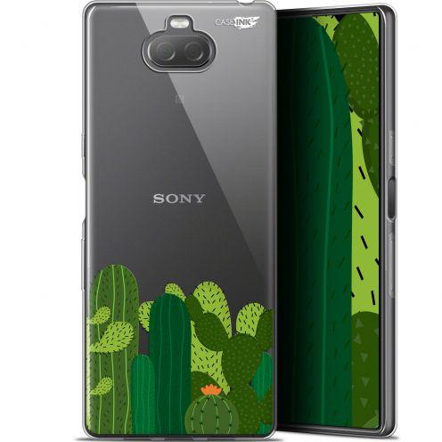 """Coque Gel Sony Xperia 10 Plus (6.5"""") Extra Fine Motif - Cactus"""