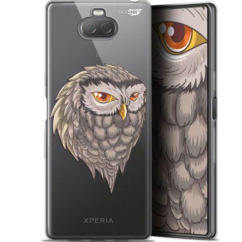 "Coque Gel Sony Xperia 10 Plus (6.5"") Extra Fine Motif - Hibou Draw"