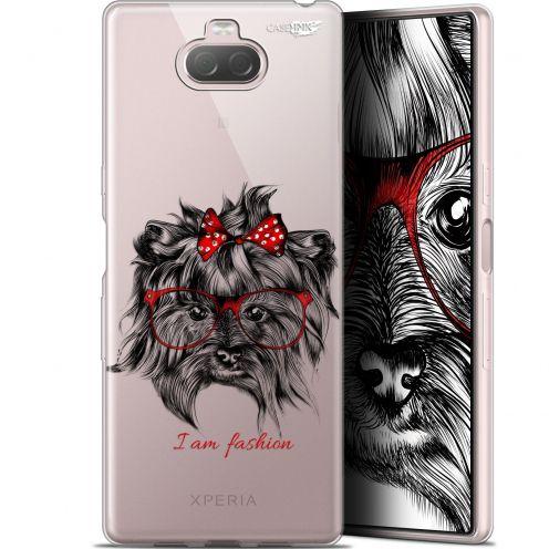 """Coque Gel Sony Xperia 10 Plus (6.5"""") Extra Fine Motif - Fashion Dog"""