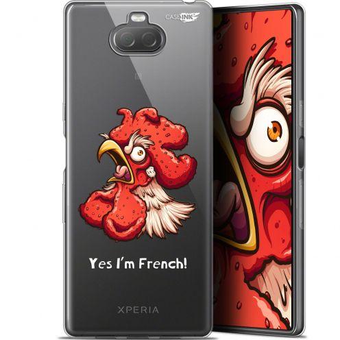 "Coque Gel Sony Xperia 10 Plus (6.5"") Extra Fine Motif - I'm French Coq"