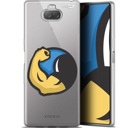 "Coque Gel Sony Xperia 10 Plus (6.5"") Extra Fine Motif - Monsieur Muscle"