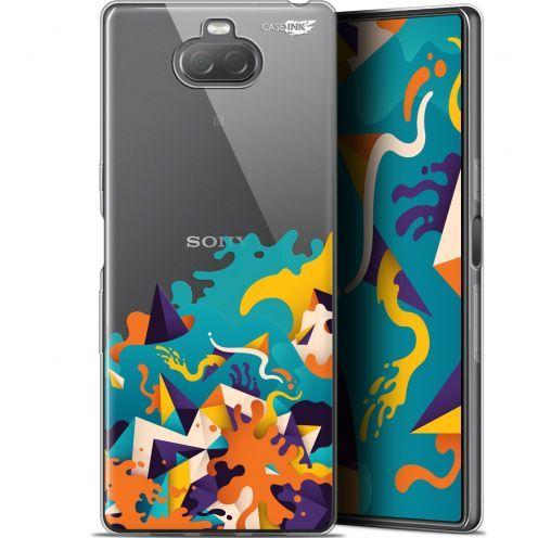 "Coque Gel Sony Xperia 10 Plus (6.5"") Extra Fine Motif - Les Vagues"