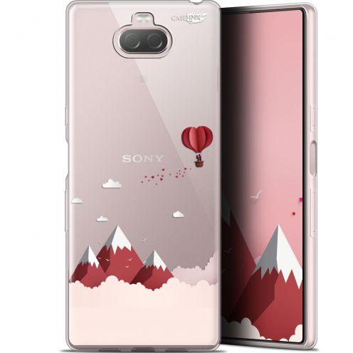 """Coque Gel Sony Xperia 10 Plus (6.5"""") Extra Fine Motif - Montagne En Montgolfière"""
