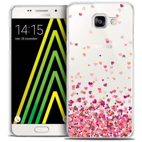Coque Crystal Galaxy A5 2016 (A510) Extra Fine Sweetie - Heart Flakes
