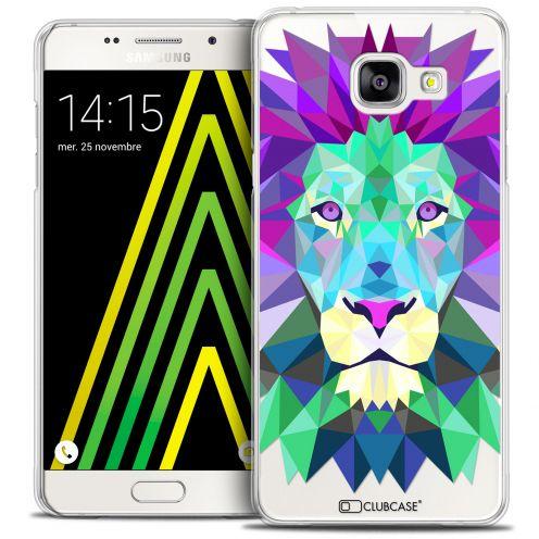 Coque Crystal Galaxy A5 2016 (A510) Extra Fine Polygon Animals - Lion
