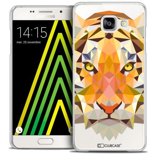Coque Crystal Galaxy A5 2016 (A510) Extra Fine Polygon Animals - Tigre