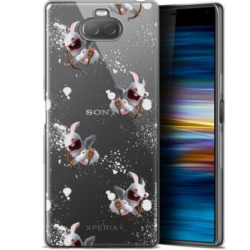 "Coque Gel Sony Xperia 10 Plus (6.5"") Extra Fine Lapins Crétins™ - Cupidon Pattern"