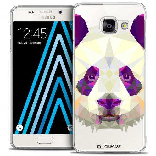 Coque Crystal Galaxy A3 2016 (A310) Extra Fine Polygon Animals - Panda