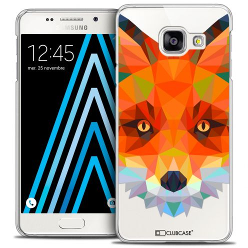 Coque Crystal Galaxy A3 2016 (A310) Extra Fine Polygon Animals - Renard