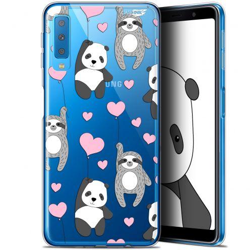 "Coque Gel Samsung Galaxy A7 2018 (A750) (6"") Extra Fine Motif -  Panda'mour"