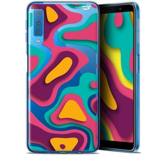 """Coque Gel Samsung Galaxy A7 2018 (A750) (6"""") Extra Fine Motif -  Popings"""