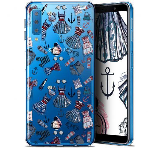 """Coque Gel Samsung Galaxy A7 2018 (A750) (6"""") Extra Fine Motif -  Fashionista"""