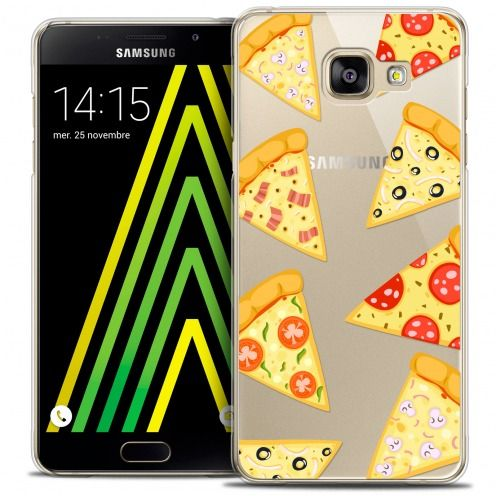 Coque Crystal Galaxy A5 2016 (A510) Extra Fine Foodie - Pizza