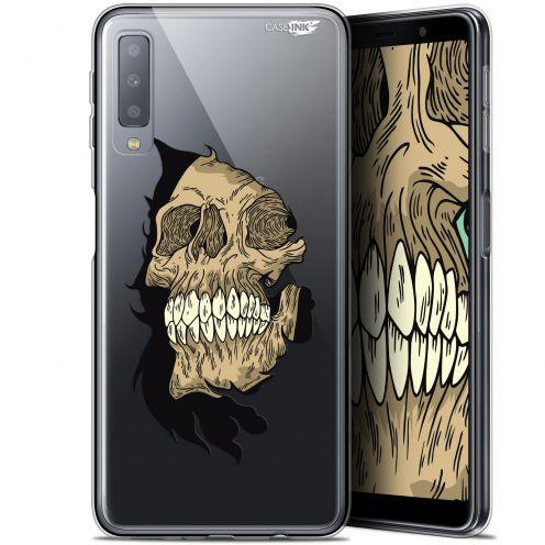 "Coque Gel Samsung Galaxy A7 2018 (A750) (6"") Extra Fine Motif -  Craneur"