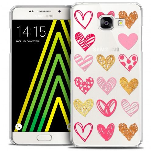 Coque Crystal Galaxy A5 2016 (A510) Extra Fine Sweetie - Doodling Hearts