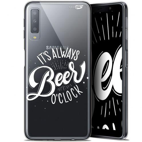 "Coque Gel Samsung Galaxy A7 2018 (A750) (6"") Extra Fine Motif -  Its Beer O'Clock"