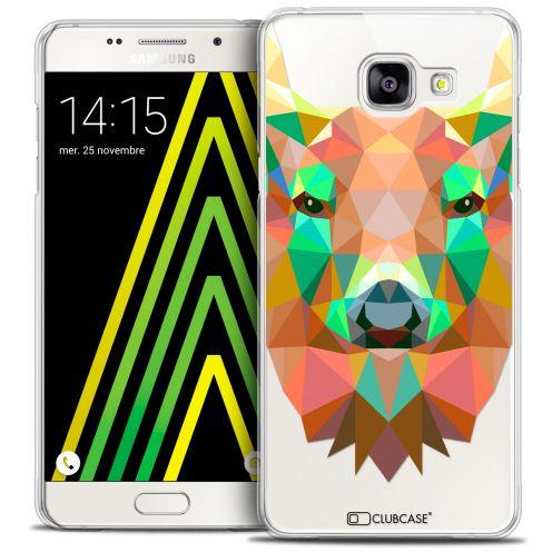 Coque Crystal Galaxy A5 2016 (A510) Extra Fine Polygon Animals - Cerf