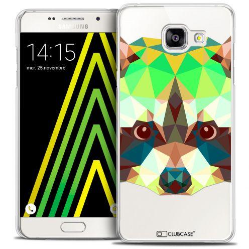 Coque Crystal Galaxy A5 2016 (A510) Extra Fine Polygon Animals - Raton Laveur