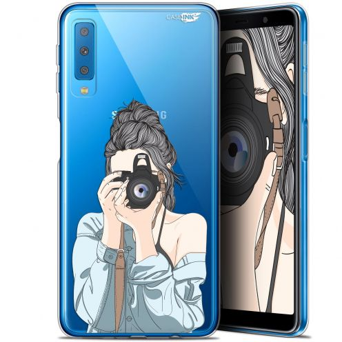"Coque Gel Samsung Galaxy A7 2018 (A750) (6"") Extra Fine Motif -  La Photographe"