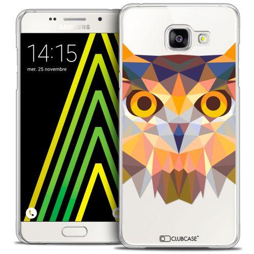Coque Crystal Galaxy A5 2016 (A510) Extra Fine Polygon Animals - Hibou