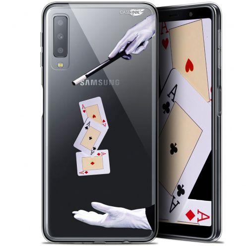 """Coque Gel Samsung Galaxy A7 2018 (A750) (6"""") Extra Fine Motif -  Cartes Magiques"""