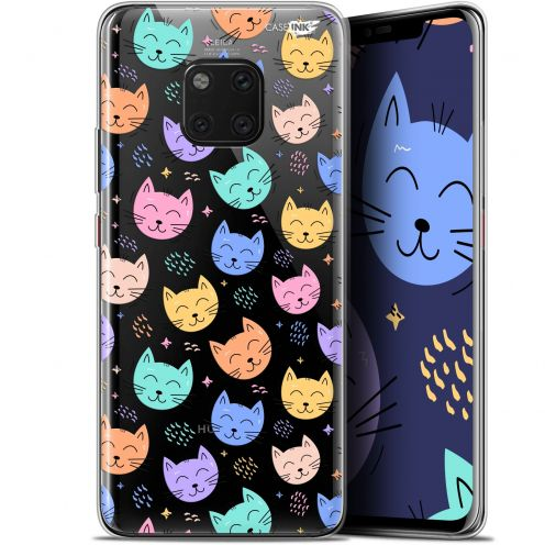 "Coque Gel Huawei Mate 20 Pro (6.39"") Extra Fine Motif - Chat Dormant"