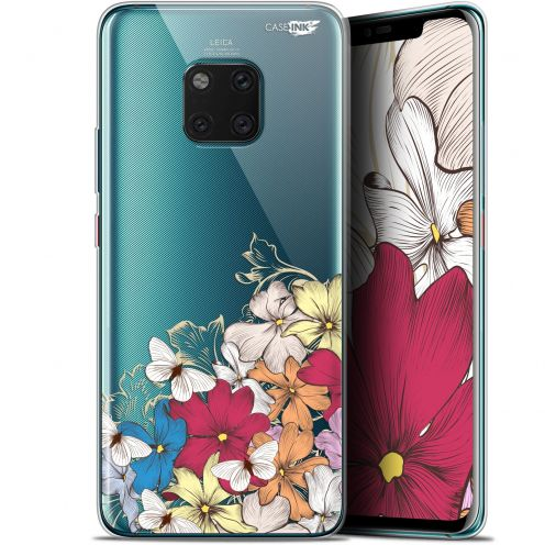 "Coque Gel Huawei Mate 20 Pro (6.39"") Extra Fine Motif - Nuage Floral"