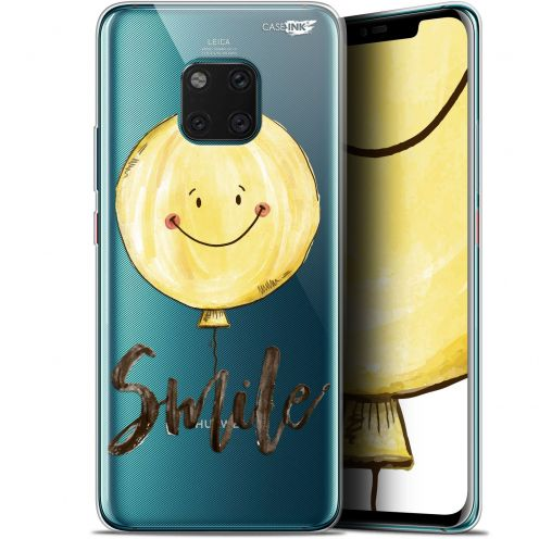 "Coque Gel Huawei Mate 20 Pro (6.39"") Extra Fine Motif - Smile Baloon"