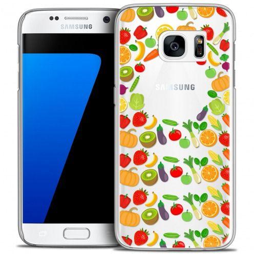 Coque Crystal Galaxy S7 Extra Fine Foodie - Healthy