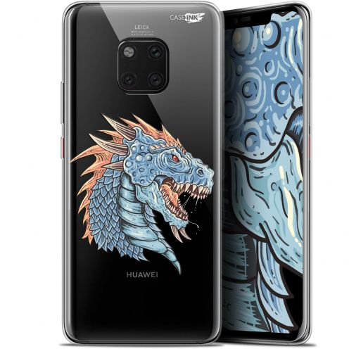 "Coque Gel Huawei Mate 20 Pro (6.39"") Extra Fine Motif - Dragon Draw"