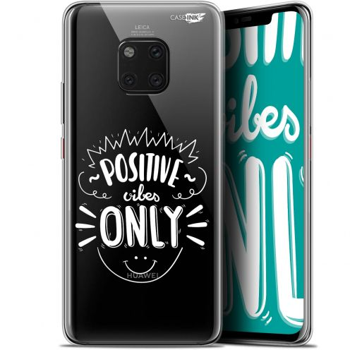 """Coque Gel Huawei Mate 20 Pro (6.39"""") Extra Fine Motif -  Positive Vibes Only"""
