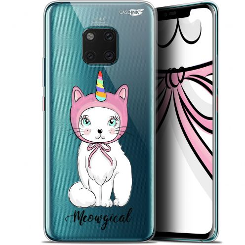 "Coque Gel Huawei Mate 20 Pro (6.39"") Extra Fine Motif - Ce Chat Est MEOUgical"