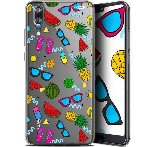 "Coque Gel Huawei P20 (5.8"") Extra Fine Motif - Summers"